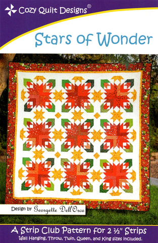 Cozy Quilt Designs Pattern - STARS OF WONDER