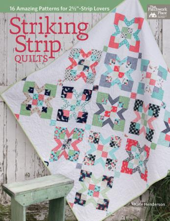 Martingale Pattern Book - Striking Strip Quilts