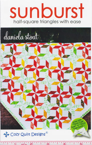 SUNBURST - Cozy Quilt Designs Pattern