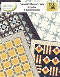 SWEET MEMOIRS MEMORIES - Lavender Lime Quilt Pattern DLL 108