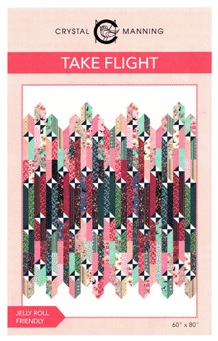 Crystal Manning Quilt Pattern - TAKE FLIGHT