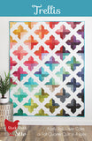 TRELLIS - Cluck Cluck Sew Quilt Pattern CCS #188 - Great with Ombre Confetti!