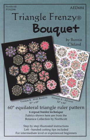 BOUQUET - Triangle Frenzy Quilt Pattern