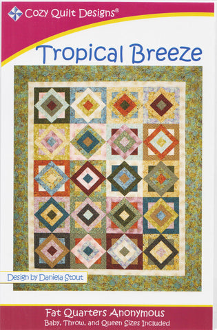 TROPICAL BREEZE - Cozy Quilt Designs DIGITAL DOWNLOAD