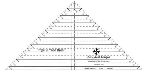 Cozy Quilt Designs - The Strip Tube Ruler