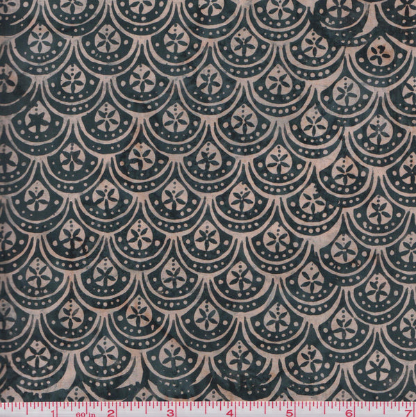 Hoffman Bali Batiks URT 2022 Floral Scales by the yard