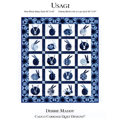 USAGI - Calico Carriage Quilt Designs Pattern