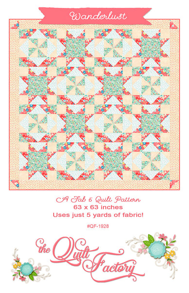WANDERLUST - Quilt Pattern QF-1928 By The Quilt Factory