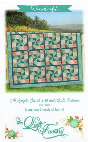 WINDRIFT - Quilt Pattern QF-1926 By The Quilt Factory