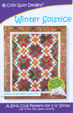 Cozy Quilt Designs WINTER SOLSTICE A Strip Club Pattern For 2 1/2 Strips