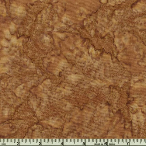 Kaufman Batik Prisma Dyes 7000 323 Walnut By The Yard