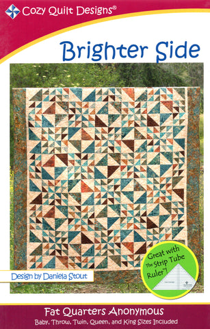 Cozy Quilt Designs Pattern - BRIGHTER SIDE