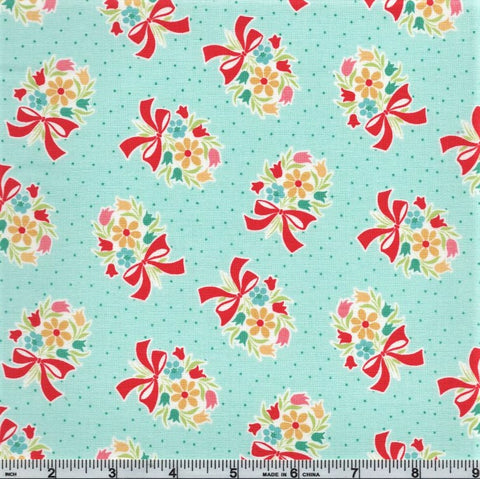 Riley Blake Vintage Happy 2 C9135 Songbird Bouquet By The Yard