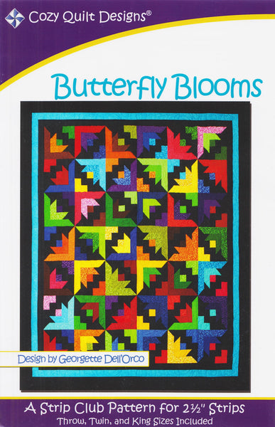 Cozy Quilt Designs Pattern - BUTTERFLY BLOOMS