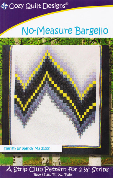 Cozy Quilt Design Pattern - NO-MEASURE BARGELLO