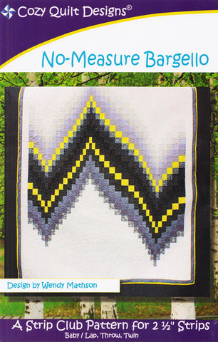 NO-MEASURE BARGELLO - Cozy Quilt Design Pattern