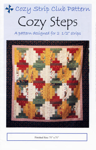 COZY STEPS - Cozy Quilt Designs Pattern DIGITAL DOWNLOAD