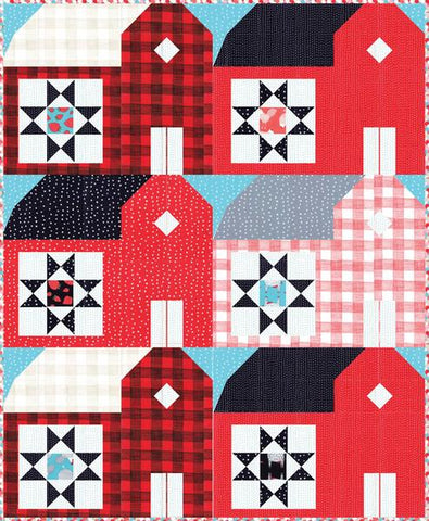 RED BARNS Pattern - Gingiber's Quilt Pattern