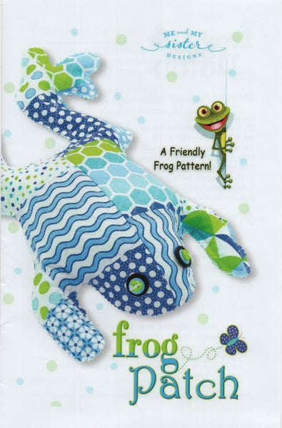 Me & My Sister Designs Frog Pattern - Frog Patch