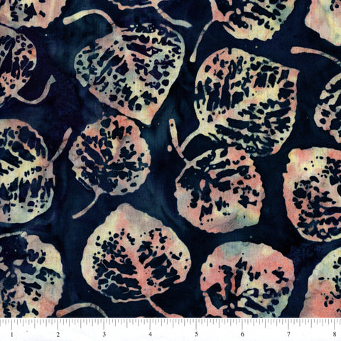 Hoffman Bali Batik 2056 275 Marlin All Over Leaves By The Yard