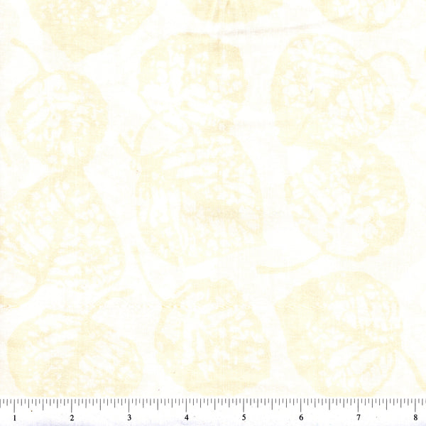 Hoffman Bali Batik 2056 265 Oyster All Over Leaves By The Yard