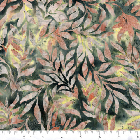 Hoffman Bali Batiks 2897 429 Leap Frog Leaves By The Yard