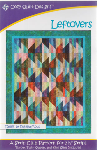 LEFTOVERS - Cozy Quilt Designs Pattern
