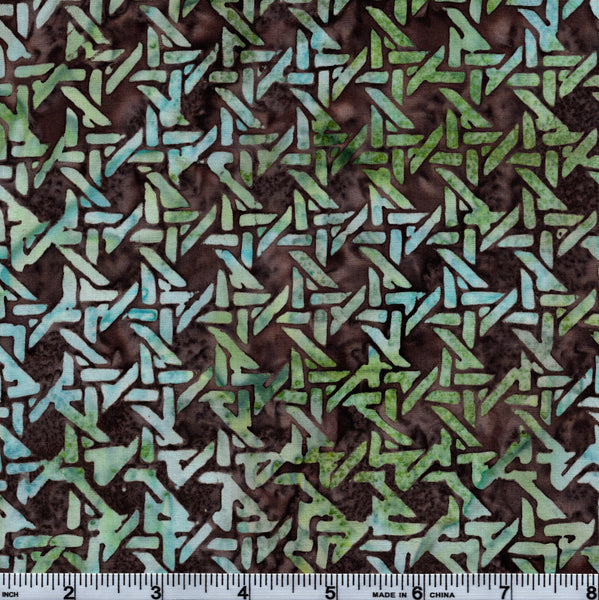 Hoffman Bali Batik MUL 4006 Horizon Knots By The Yard