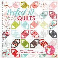 PERFECT 10 QUILTS - It's Sew Emma Pattern Book