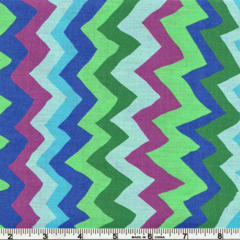 Free Spirit Kaffe Fassett Collective PWBM062 Spring Sound Waves By The Yard