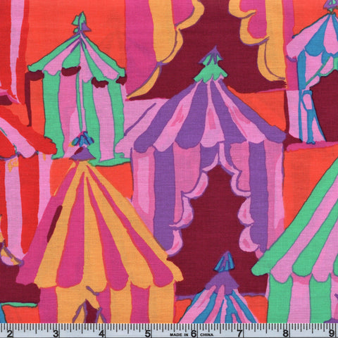 Free Spirit Kaffe Fassett Collective PWBM066 RedXX Glamping By The Yard