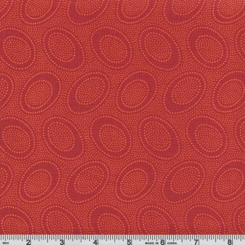 Free Spirit Kaffe Fassett PWGP071 Pumpkin Aboriginal Dot By The Yard