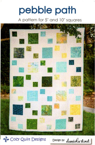 Cozy Quilt Designs - PEBBLE PATH