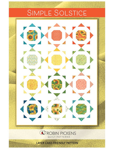 SIMPLE SOLSTICE - Robin Pickens Quilt Pattern
