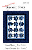 Calico Carriage Quilt Designs Quilt Pattern - SPINNING STARS