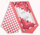 Tilda Pre-Cut Log Cabin Table Runner Kit - Tilda Pink