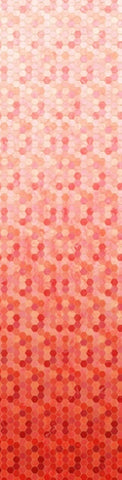 Hoffman Digital Print Backsplash 4762 59 Coral Ombre Hexagon Tile By The Yard
