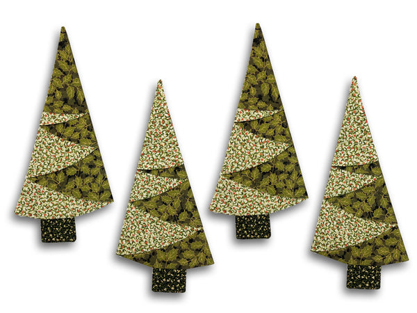 VIDEO BUNDLE Napkin Kit (Includes Pre-cut Half Yards -Makes 4)  - Gilded Greenery
