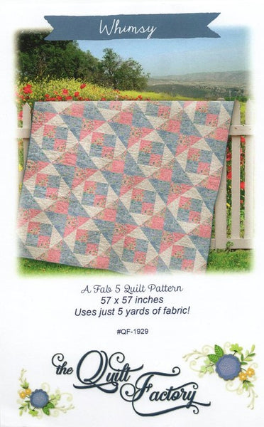 WHIMSY - Quilt Pattern QF-1929 By The Quilt Factory