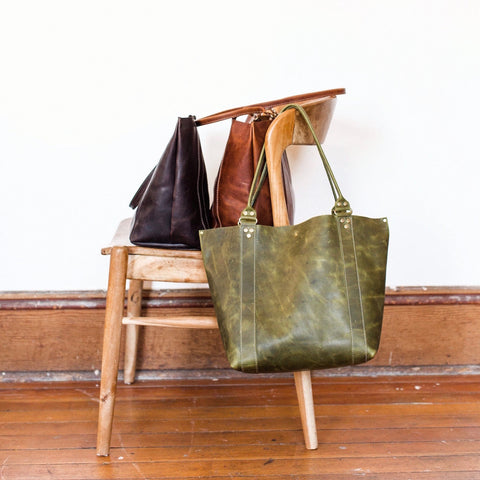 Found Leather Goods Gift Guide Demi Tote
