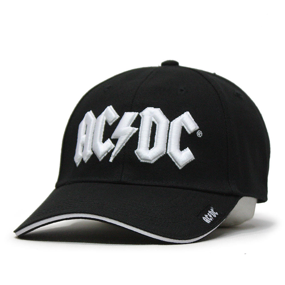 AC//DC UNISEX BASEBALL CAP BACK IN BLACK 100/% Official Merchandise