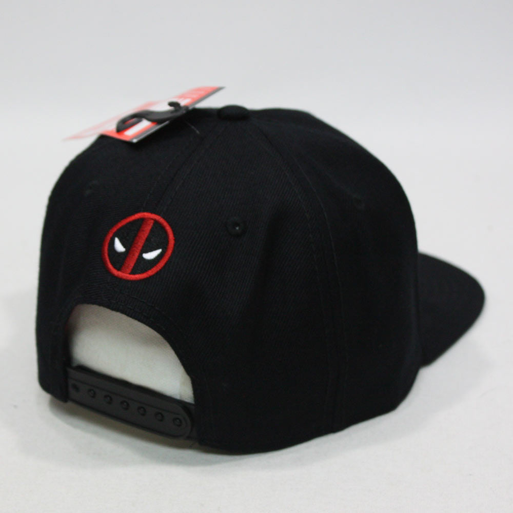 Marvel Kawaii Deadpool Embroidered Flat Brim Snapback Adjustable Baseball  Cap 7b13b64a93e1