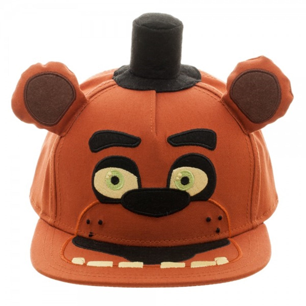Five Nights at Freddy s Big Face Plush Snapback Baseball Cap - Ooh La La  Factory 995fbe80fa9