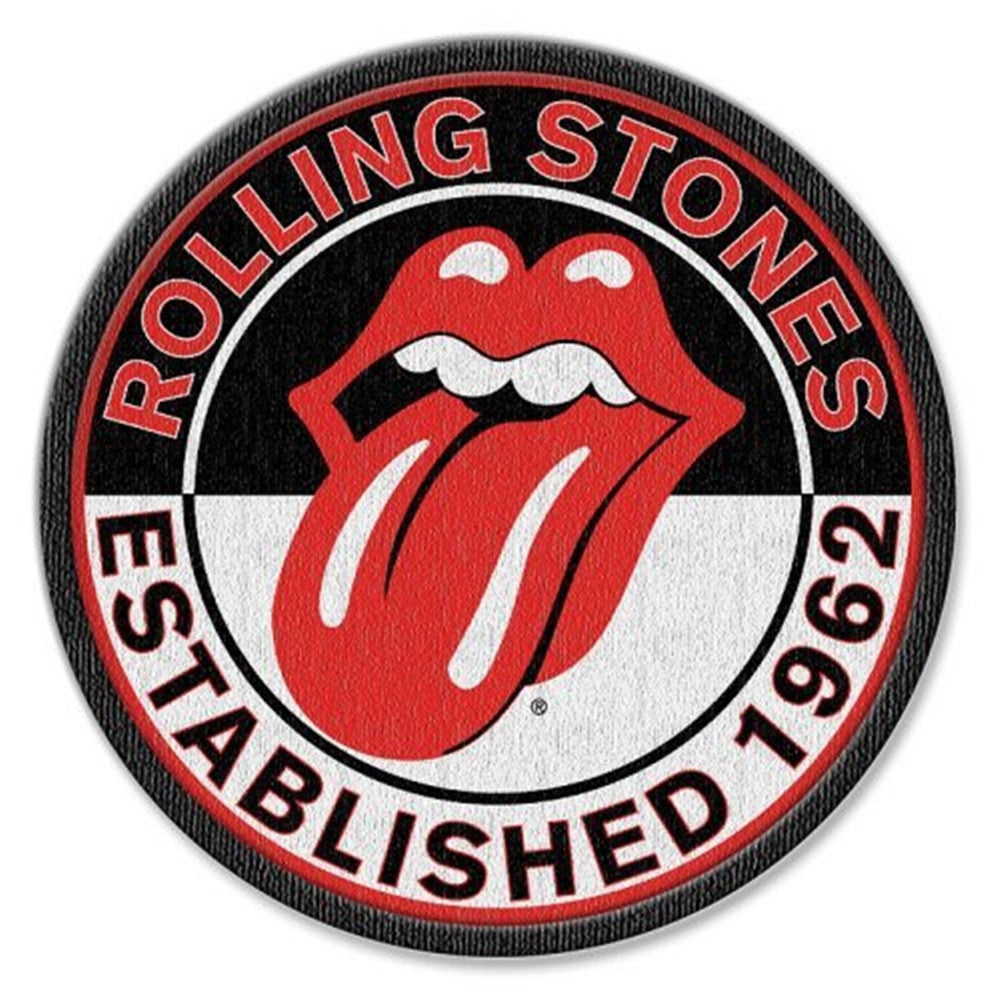 Rolling Stones Tongue Logo Patch