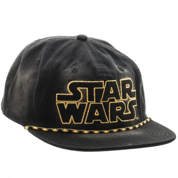 Star Wars Washed Unstructured 6 Panel Snapback Baseball