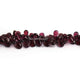 1 Strand Amethyst  Smooth Briolettes - Pear Drop Shape  Briolettes 9mmx5mm-6mmx4mm-8 Inches BR2916 - Tucson Beads