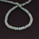 1 Strand Amazonite Faceted  Rondelles ,Round Beads - Gemstone Beads  - 7mm 15.5 Inches BR3619 - Tucson Beads