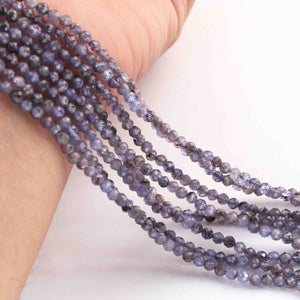 1 Long Strand Black Onyx Faceted Briolettes -German Cut Briolettes  10mmx13mm  7.5 Inches BR149 - Tucson Beads