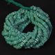 1 Long Strand Amazonite Heshi Smooth Briolettes  -Square Shape  Briolettes  5mm- 16 Inches BR2206 - Tucson Beads
