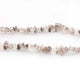 1 Long Strand Herkimer Diamond Faceted Briolettes  - Faceted Briolettes  5mmx4mm & 9mmx5mm 8 Inches long BR914 - Tucson Beads